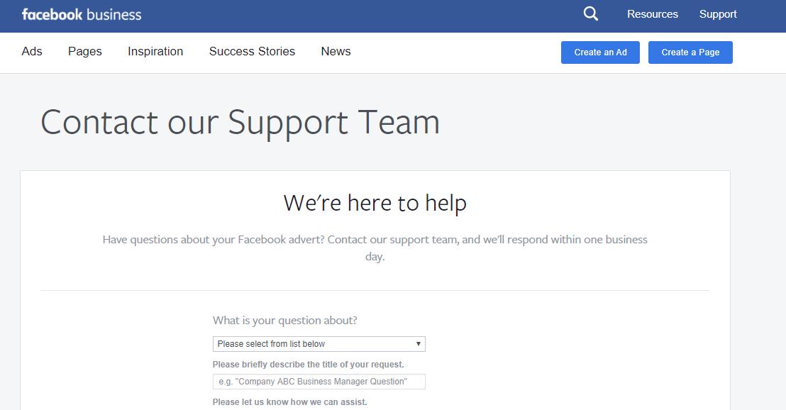 לינק תמיכה של פייסבוק כך תצרו קשר עם נציג מפייסבוק בקלות